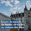 Nantes: L'open de squash 2019 a lieu au château des ducs