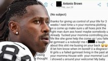 Antonio Brown Responds After Being SLAPPED With A Sexual Assault Case Involving His Trainer!