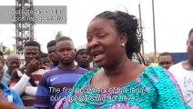 Benin bulldozes district, leaving residents homeless