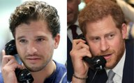 Kit Harington and Prince Harry Take Part in 9/11 BGC Charity Day