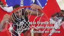 """Basket/Mondial-2019: la France élimine les Etats-Unis, """"un rêve"""""""