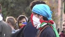 Incidentes frente al Parlament tras la manifestación de la Diada