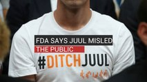 FDA Says Juul Misled The Public