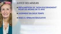 La réforme de la justice des mineurs prévue par le gouvernement