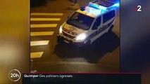 Quimper : des policiers agressés