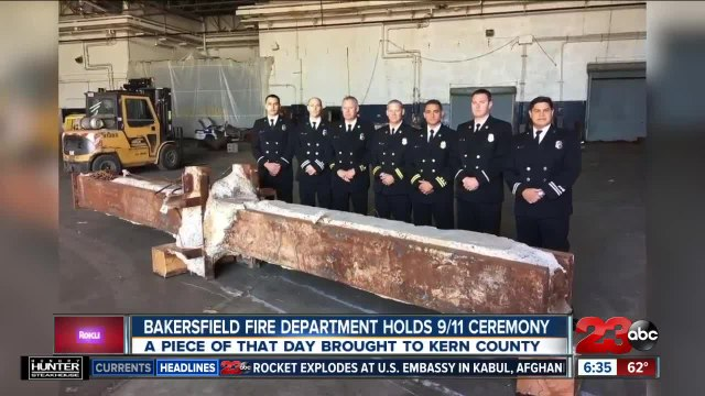 Bakersfield Fire Department Holds 9/11 Ceremony