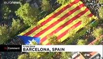 Catalogne: manifestation annuelle des indépendantistes