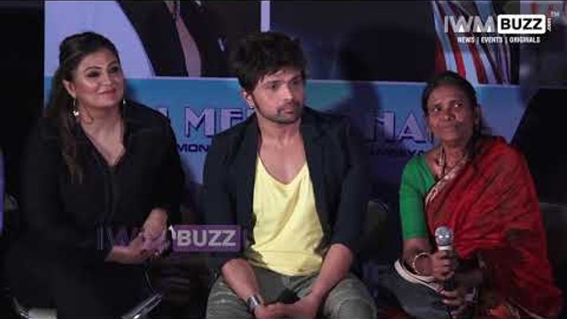 Himesh Reshammiya and Ranu Mandal at the press Conference of Teri Meri Kahani