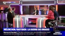 Mélenchon/Quotidien: La guerre des images - 11/09