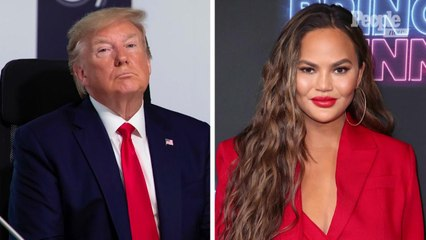 Chrissy Teigen Explains Her Reaction to President Trump's Tweets About Her: 'I Was Really Angry'