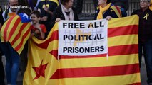 Rally for Catalonia independence held in London