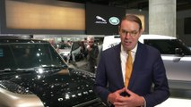 Land Rover at Frankfurt Motor Show 2019 - Hanno Kirner, Executive Director, Corporate & Strategy, Jaguar Land Rover