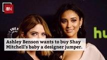 Ashley Benson Is Buying Baby Gifts