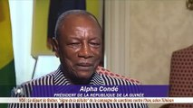 Alpha Condé assure que ''Dieu seul sait'' jusqu'où il compte aller