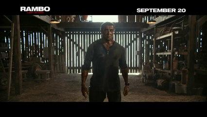 Sylvester Stallone - Rambo Last Blood movie - Hurt
