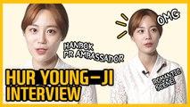 [Showbiz Korea] I am Hur Young-Ji(허영지)! Interview for the Hanbok PR Ambassador(한복 홍보대사)