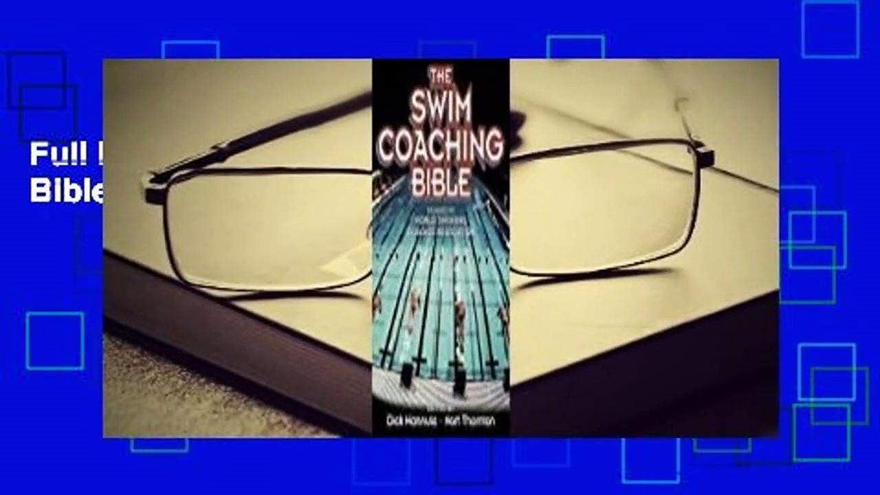 Full E-book The Swim Coaching Bible, Volume I  For Full