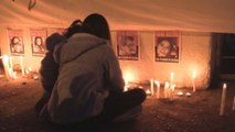 Miles de velas iluminan el estadio Nacional, el mayor campo de concentración de la dictadura chilena
