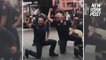 New Zealand firefighters honor 9/11 through dance
