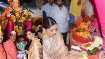 Deepika Padukone seeks blessings from Lalbaugcha Raja during Ganpati utsav; Watch video | FilmiBeat