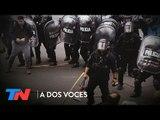 Peleas, disturbios y piquetes en la 9 de Julio | A DOS VOCES