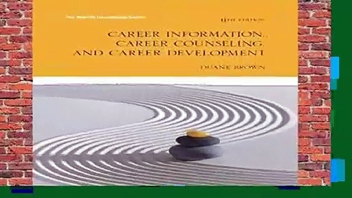 [FREE] Career Information, Career Counseling and Career Development (The Merrill Counseling)