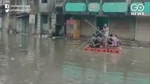 Floods In Bharuch As Narmada Swells
