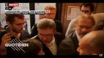 Regardez le moment le plus fort des images de la perquisition chez la France Insoumise mises en ligne par Quotidien hier soir