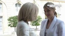 """""""Brigitte Macron, l'influente"""": ce moment où la Première dame rassure son homologue ukrainienne à l'Élysée"""