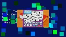 USA Today Crossword: 200 Puzzles from the Nation s No. 1 Newspaper (USA Today Puzzles)  Review