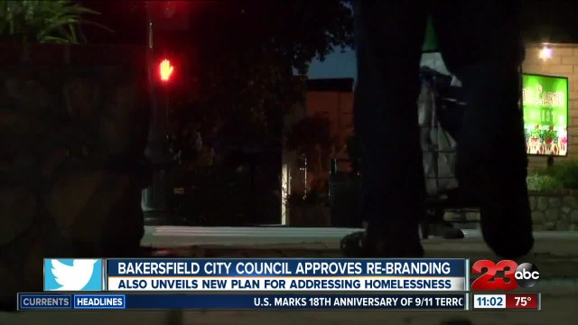 City approves new branding and discusses homelessness challenges