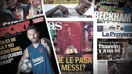 Beckham veut ramener Messi et Suarez à Miami, les derniers rêves de Cristiano Ronaldo