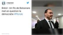 Le fils de Jair Bolsonaro fait l'objet d'une enquête