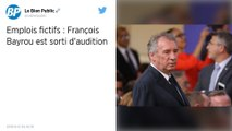 Affaire des assistants parlementaires du Modem : Bayrou se dit « très content » à l'issue de son audition
