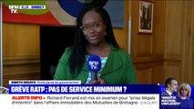 """Sibeth Ndiaye: """"Je serai de cœur avec tous les Franciliens qui galéreront dans les couloirs du métro"""""""