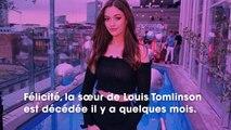 Louis Tomlinson  sa sœur Félicité serait décédée à cause d'abus d'alcool et de drogues