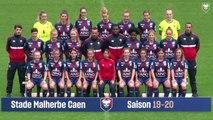 La photo officielle de l'équipe féminine séniors du SMCaen