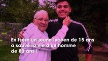 Isère  à 83 ans, il retrouve le lycéen de 15 ans qui lui a sauvé la vie