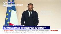 """Édouard Philippe: """"La retraite par répartition est un trésor national"""""""