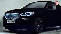 VÍDEO: BMW X6 con pintura Vantablack, el coche más oscuro de Frankfurt