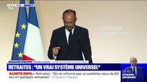 """Éedouard Philippe assure que l'entrée dans le nouveau système de retraites """"concernera les personnes nées après 1963"""""""