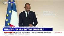 """Retraites: Édouard Philippe promet de repenser """"la carrière et la rémunération"""" des enseignants, des chercheurs et des aides-soignants"""
