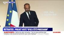 Retraites: Édouard Philippe affirme que des consultations citoyennes auront lieu jusqu'à la fin de l'année