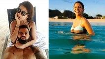Anushka Sharma & Virat Kohli enjoying vacation, Watch Hot Photo of Couple in Bikini |FilmiBeat