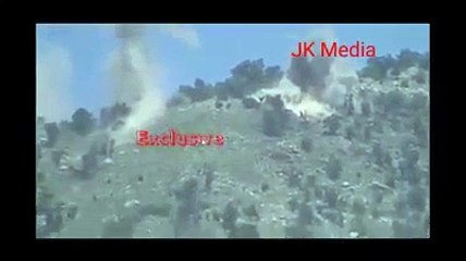 Indian Army destroys Pakistan posts
