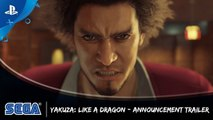 Yakuza Like a Dragon - TGS 2019 Announcement Trailer (VO)