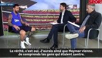 Lionel Messi dit sa vérité sur le dossier Neymar