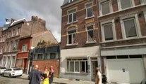 Incendie rue Marengo à Liège