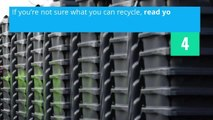 Recycling - Seven Tips to Recycle Better
