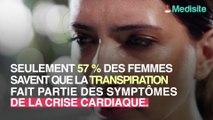 La transpiration, nouveau symptôme de la crise cardiaque ?